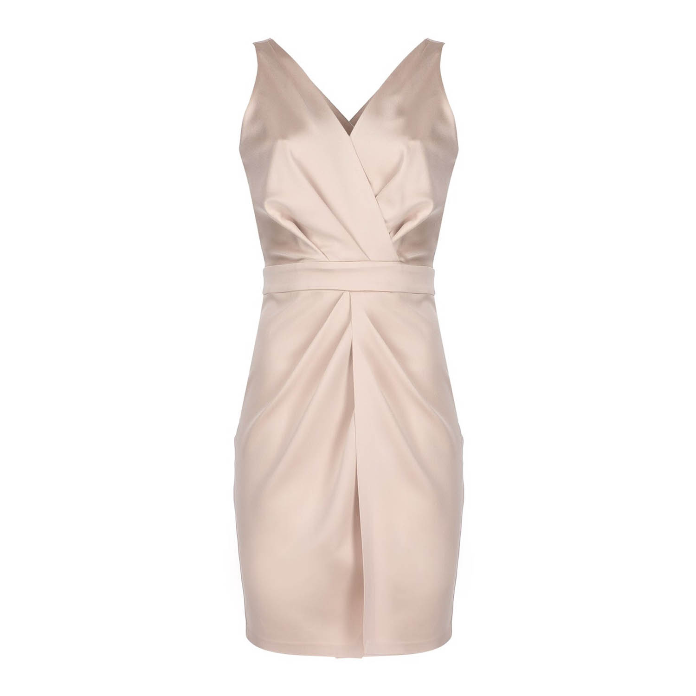 0001_krem-abiye-elbise Dekupe Çekimi
